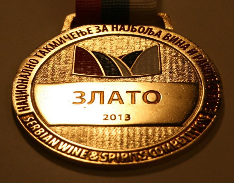 Novi Sad Fair, Serbia, Gold medal 2013 year