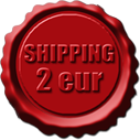 Shipping for only 2 eur