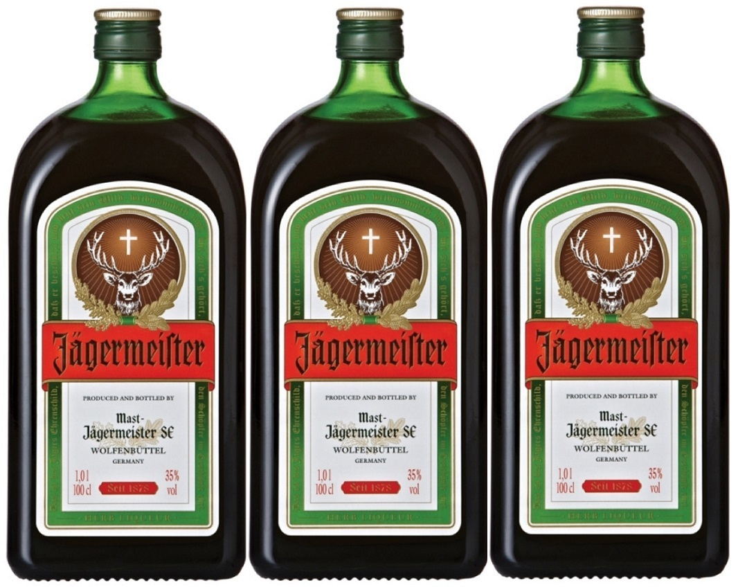Jägermeister Bitter Pack of 3