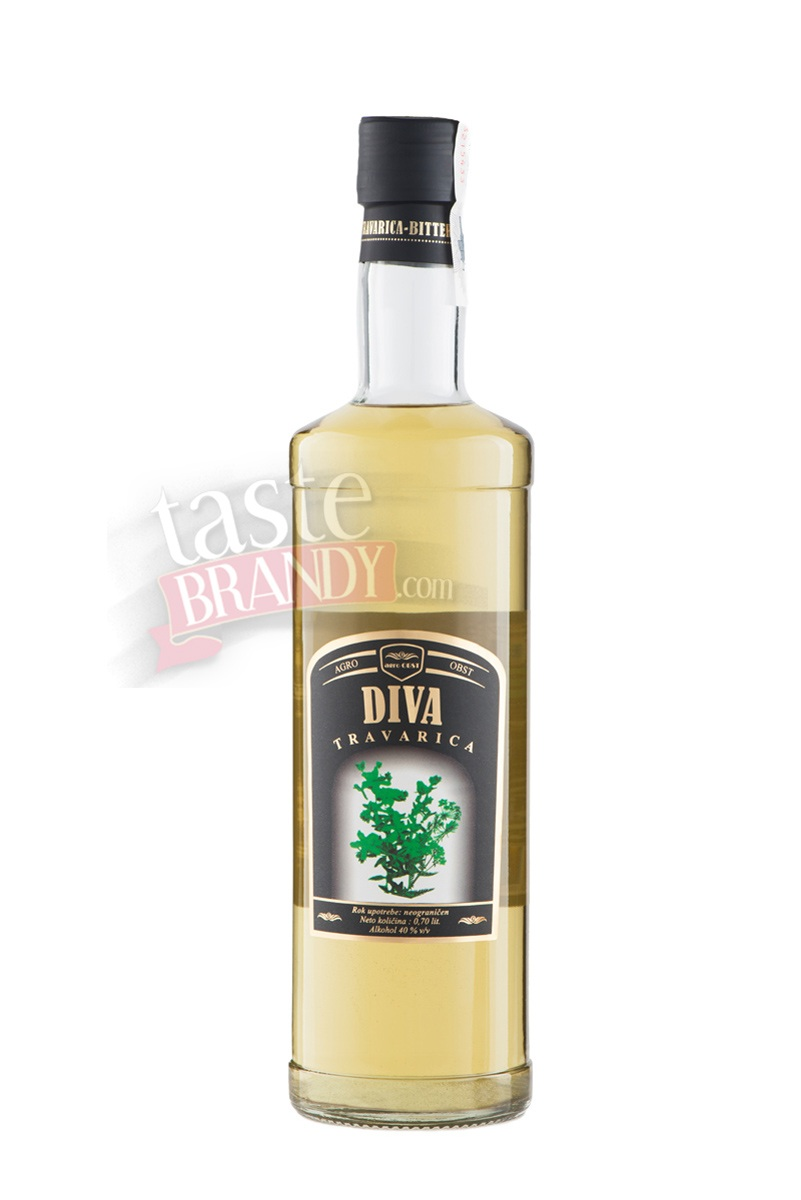 Herbal Brandy Diva Travarica