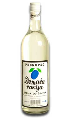 Domestic Slivovitz Prokupac