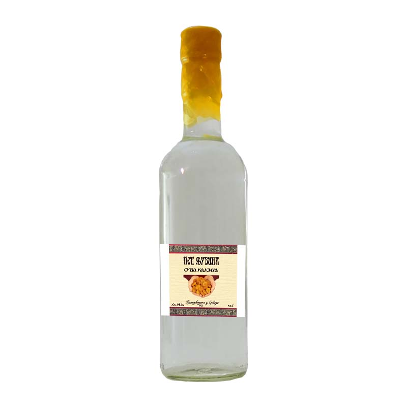 Dried Apricot Brandy Of Priest Ljuba