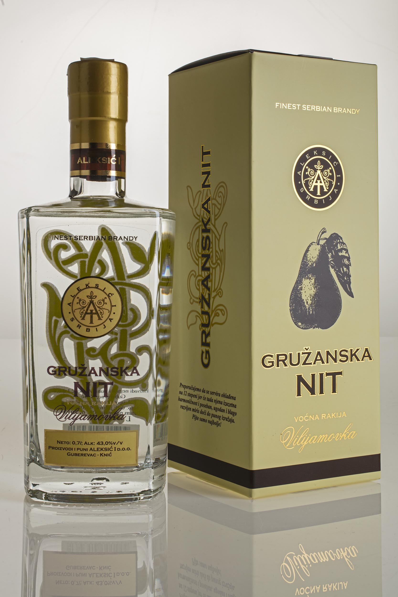 Gruzanska nit Williams Pear Brandy