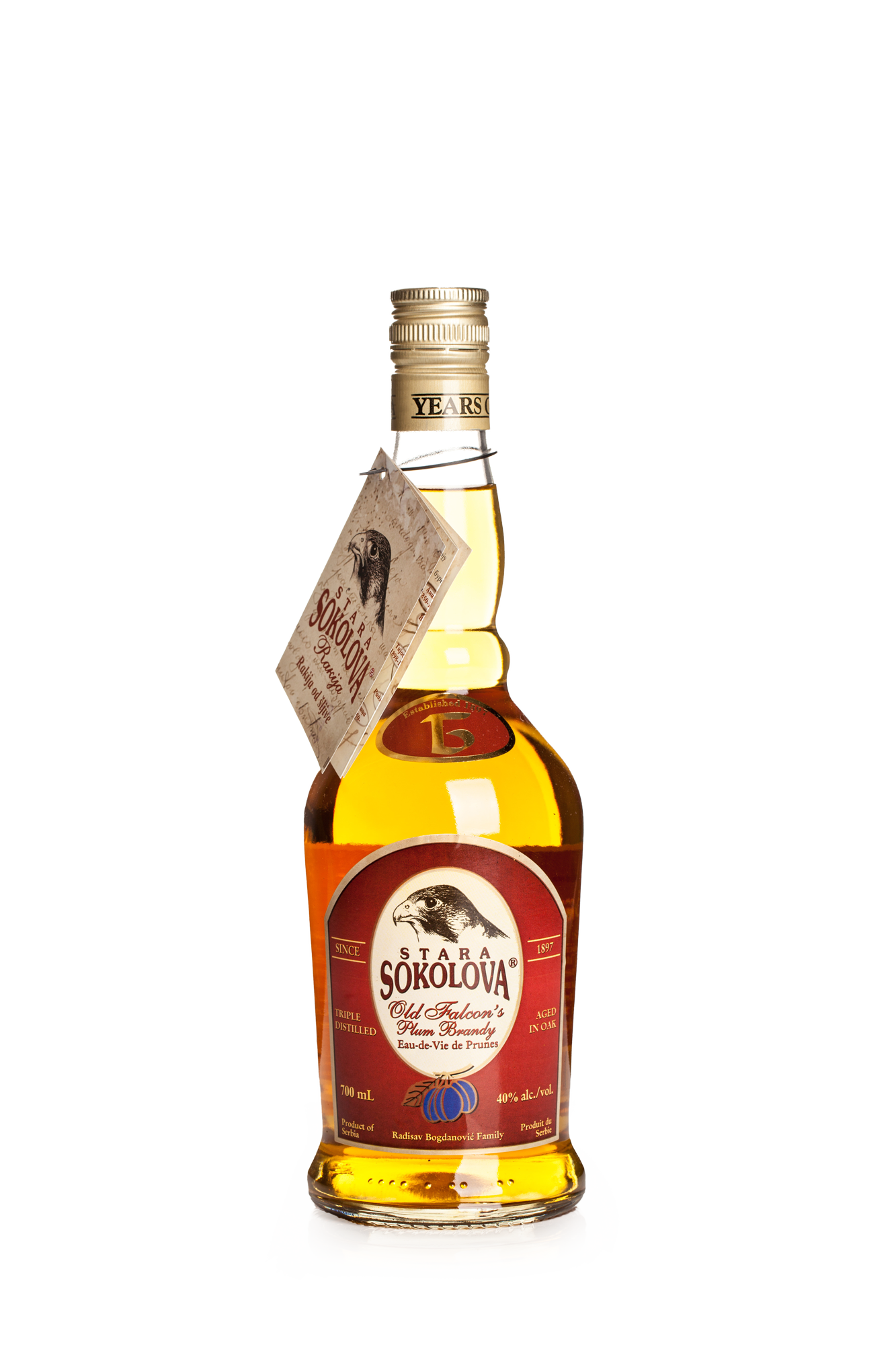 Old Falcons Plum Brandy