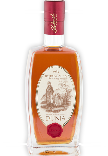 Quince Brandy Bojkovcanka 10 Years old