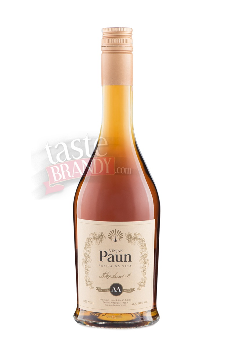 Cognac Paun AA (Absolute Archive) 20 Years Old Handcrafted