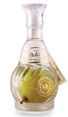 Williams Pear Brandy with Ripe Pear