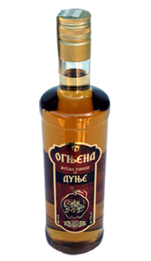 quince brandy ognjena quince brandy distilled from ripe fruit with ...