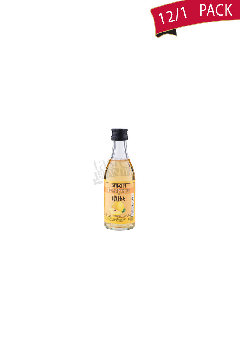 Quince brandy Ognjena 0,05l Pack of 12