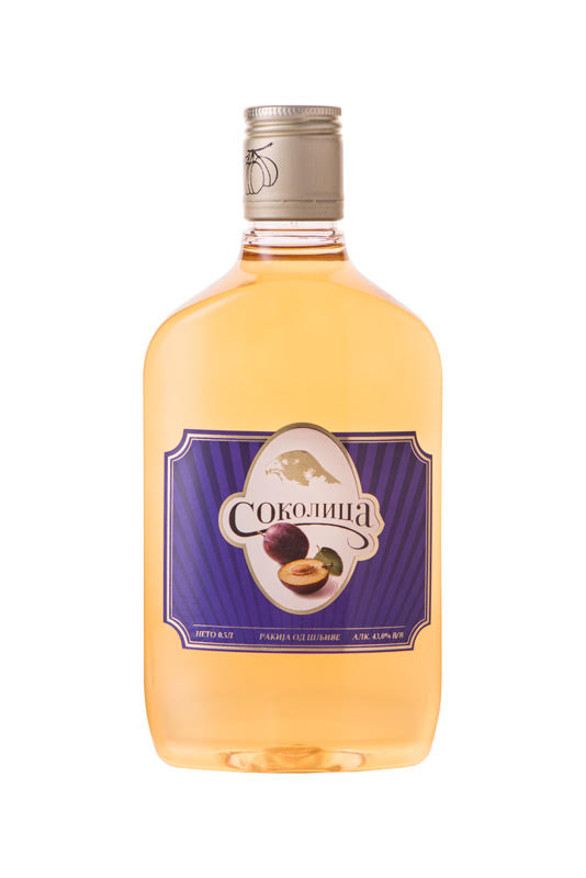 Plum Brandy Slivovitz Sokolica PET
