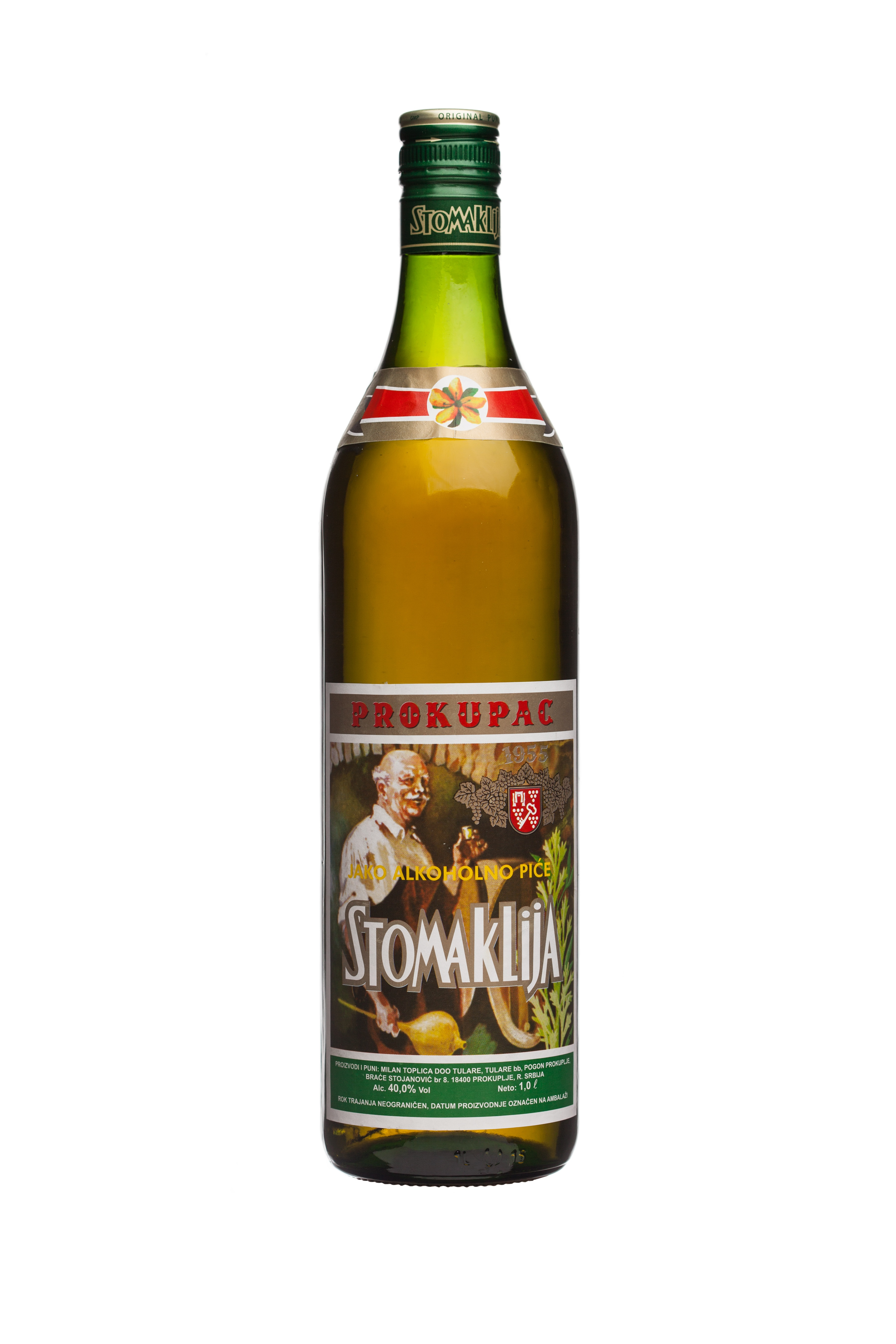 Stomaklija Brandy with Medicinal Herbs