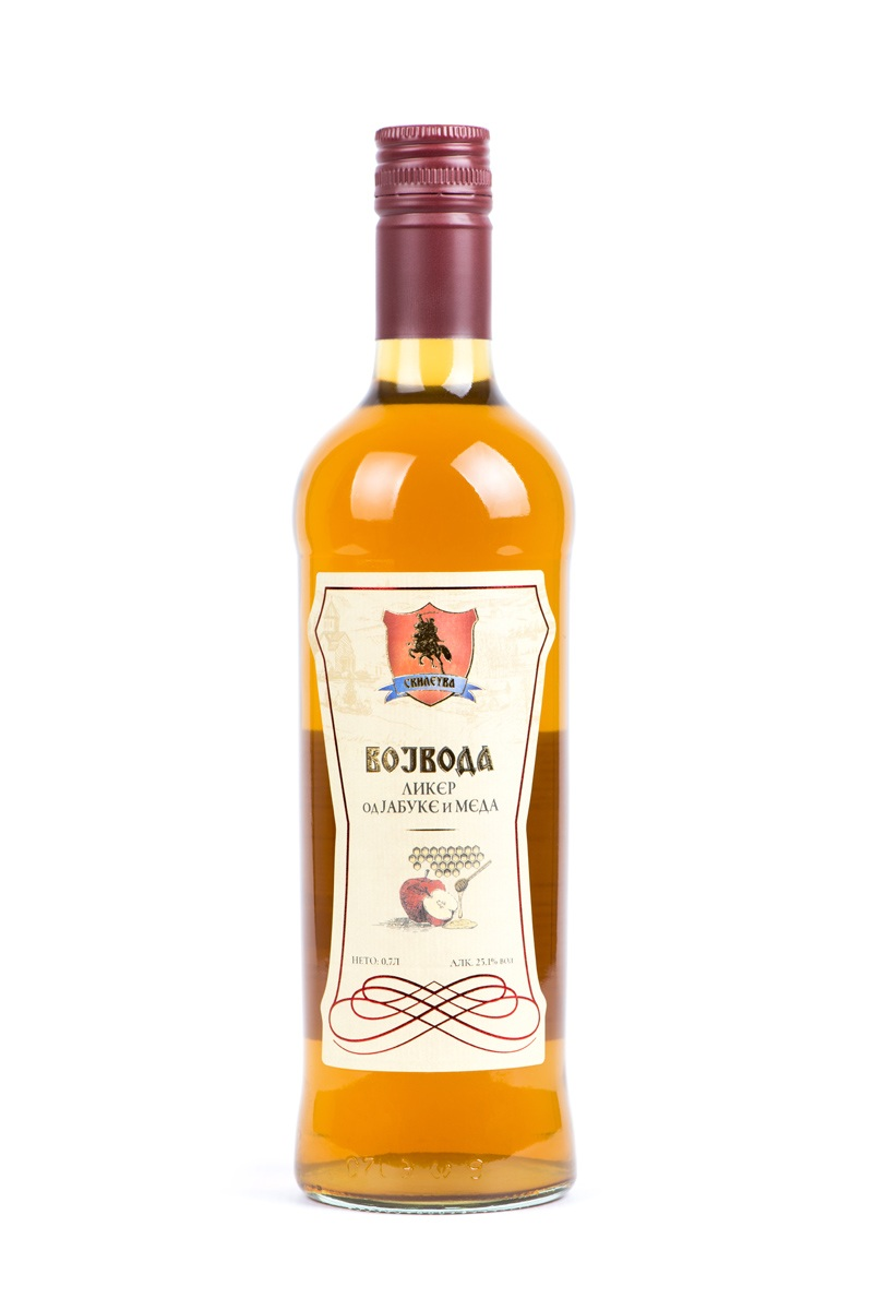 Liqueur with honey Vojvoda