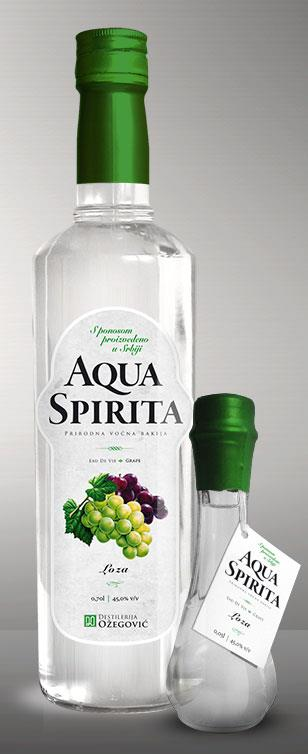 Muscat Grape Brandy Aqua Spirita