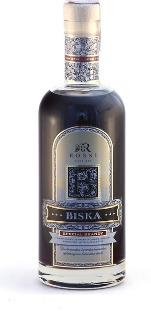 Pomace Grape Brandy With Mistletoe Biska