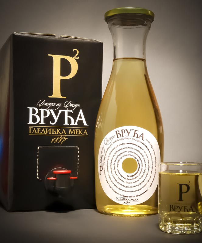 Plum Brandy Slivovitz For Boiling Bag-In-Box 5L Discount 25%