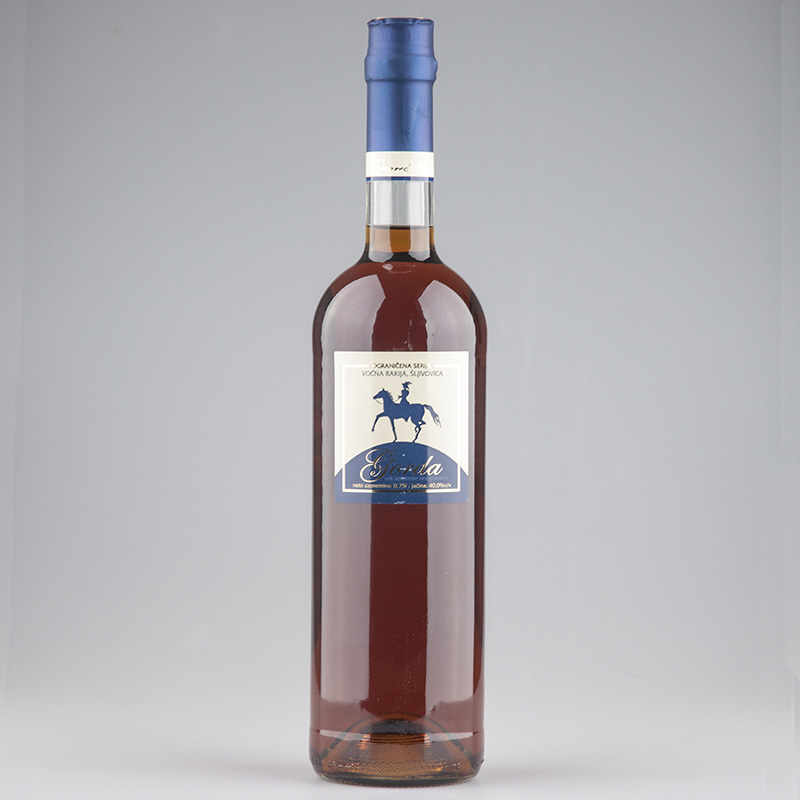 Plum Brandy Slivovitz Gorda slim