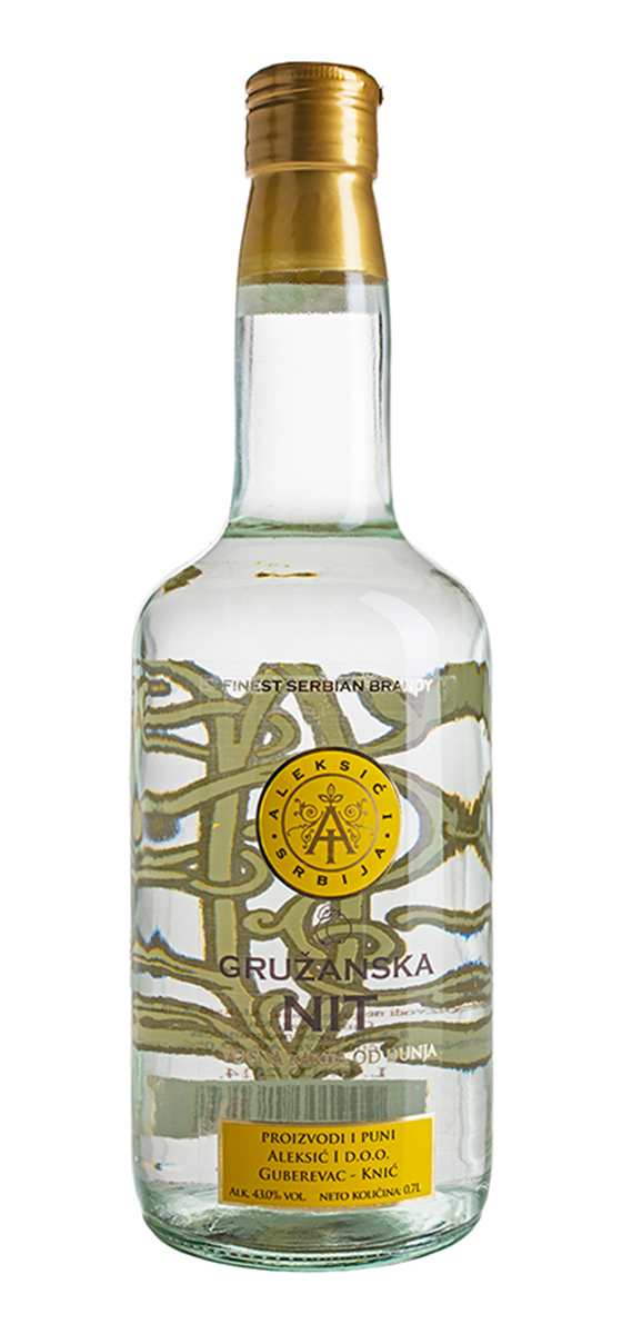 Golden Thread of Gruza Quince Brandy