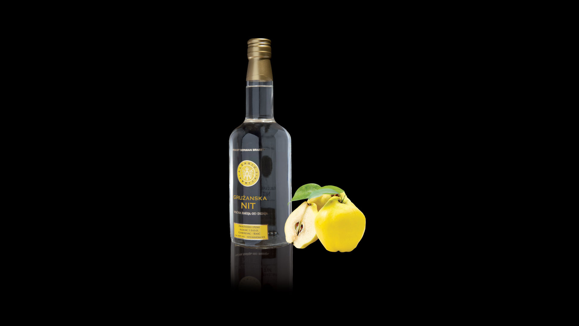 Golden Thread of Gruza Quince Brandy Exclusive