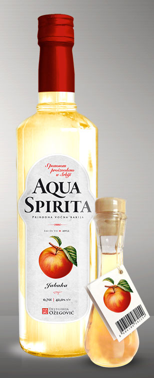 Apple brandy Aqua Spirita