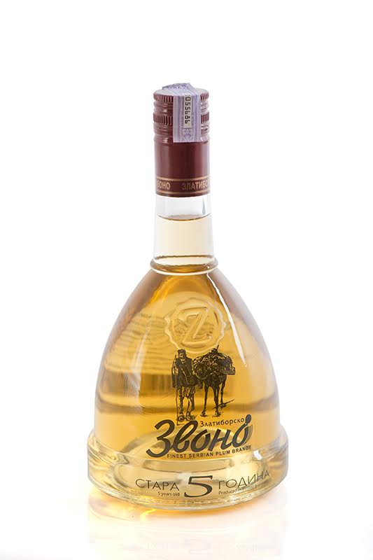 Plum Brandy The Zlatibor Bell 5 Years Old