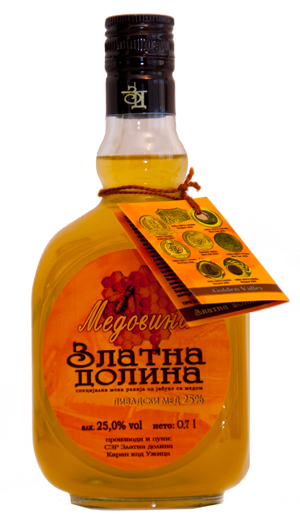 Golden Valley Honey Brandy