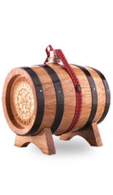 Barique Slivovitz in a Barrel