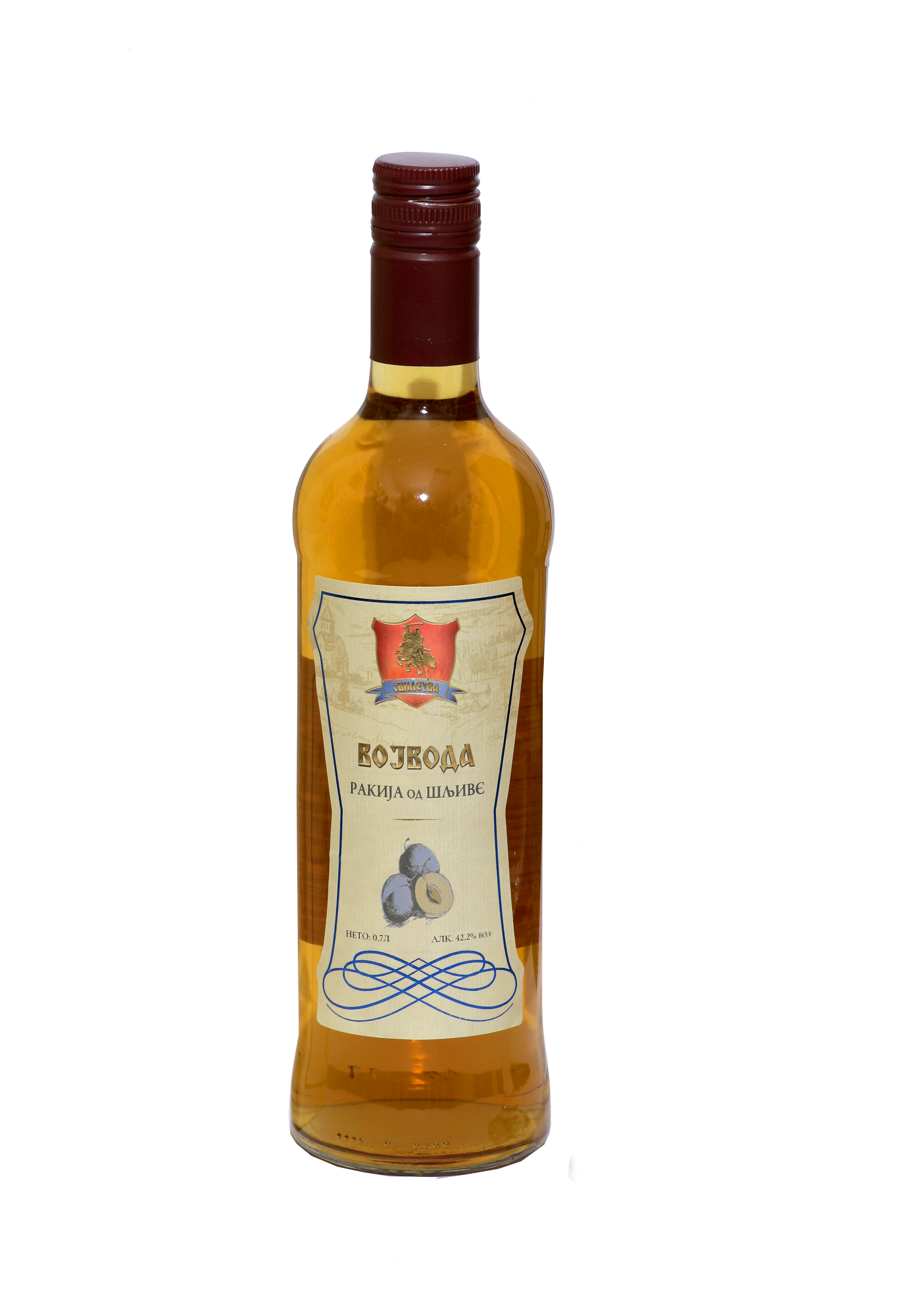 Supreme Plum Brandy 5 Years Old Vojvoda